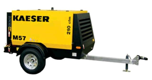 Where to find AIR COMPRESSOR 210 CFM, KAESER in Sikeston