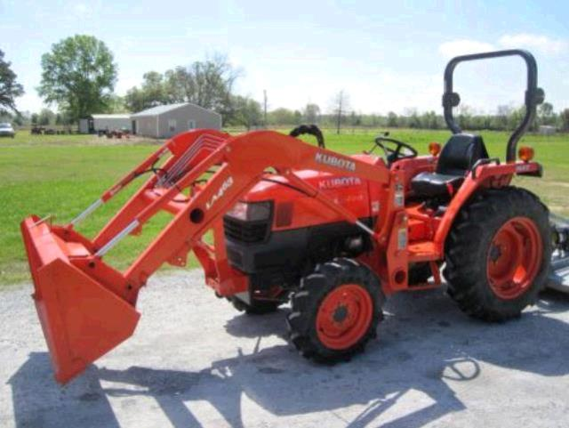 L3400 Kubota Tractor W Loader : Tractor kubota l rentals sikeston mo where to rent